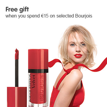 Free gift when you buy selected Bourjois
