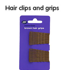 Hair clips and grips