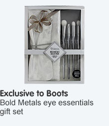 Exclusive to Boots Bold Metals Complete Eye Essentials Set