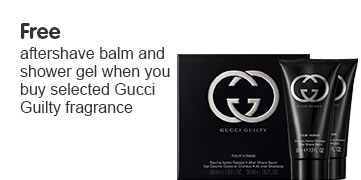 Free gift when you buy selected Gucci Guilty