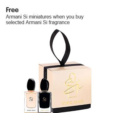 Free Armani Mini Gift