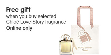 Free gift when you buy selected Chloe Love Story