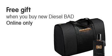 Free gift when you buy Diesel Bad