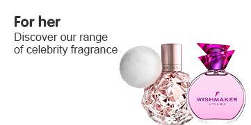 Celeb fragrance for her