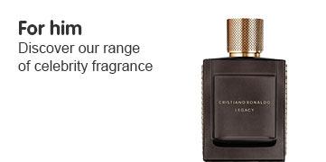 Celeb fragrance for him