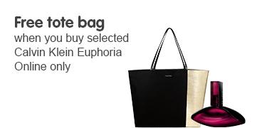 CK free tote bag