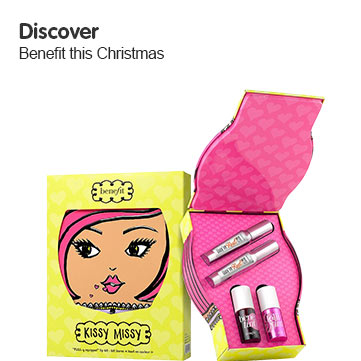 Discover Benefit gift sets this Christmas