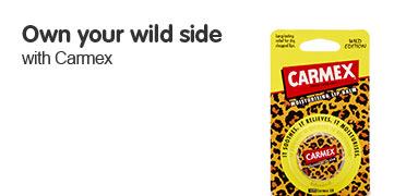 Carmex (Leopard print Ltd Edition)
