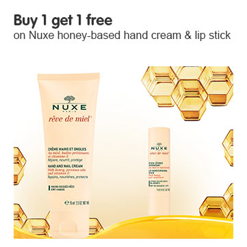 Buy 1 get 1 free on selected Nuxe ROI