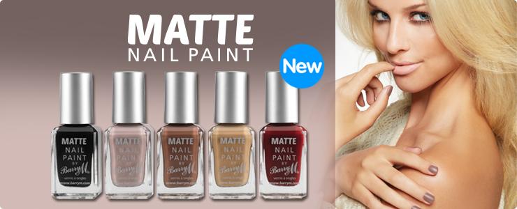 New Barry m Matte Nail Paint