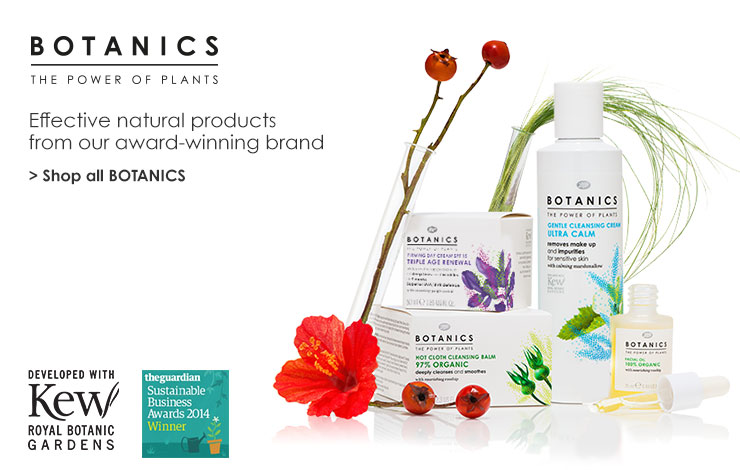 Shop all Botanics. Effective natural products from our award winning brand