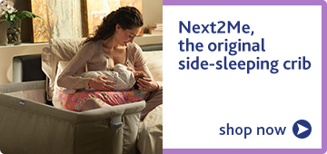 Chicco Next2Me the orginal side-sleeping crib