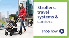 Strollers, travel systems and carriers