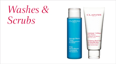 Clarins Washes and Scrubs