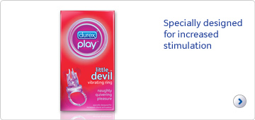 Durex play little devil. Specially designed for increased stimulation