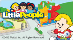 List of toys from Fisher Price World of Little People