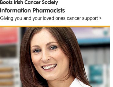 Boots Irish Cancer Society Information Pharmacists