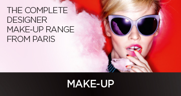 The complete designer makeup range paris