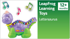 Leaprfrog learning toys Lettersaurus