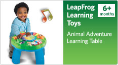 Leapfrog learning toys. Animal Adventure Learning Table