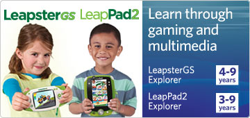 leapster gs leappad 2 learn through gaming and multimedia