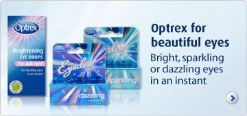Optrex for beautiful eyes bright, sparkling dazzling eyes in an instant