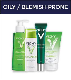 oily and blemish prone