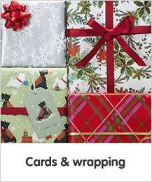 Cards and wrapping