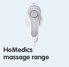 Homedics massage range
