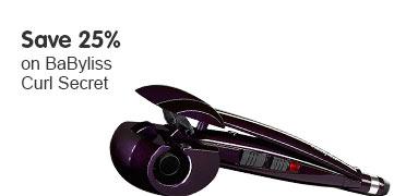 Save 25% BaByliss Curl Secret