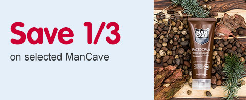Save 1/3 on selected ManCave