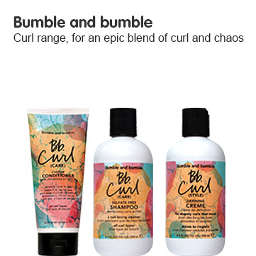 Bumble and bumble curl