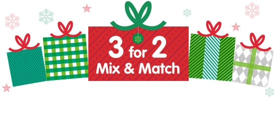 3 for 2 Mix & Match
