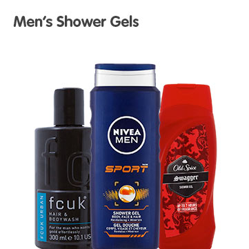 Mens Shower Gels