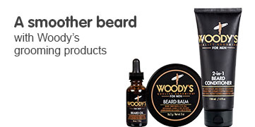 A Smoother Beard with Woody's Grooming Products