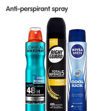 Anti-Perspirant Spray