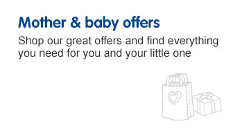Mother & Baby offers page