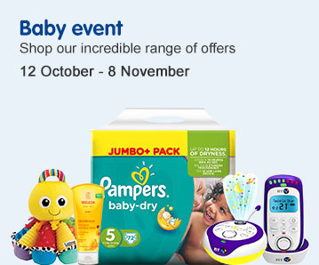 Baby Event Shop our incredible range of offers 12th October - 8th November