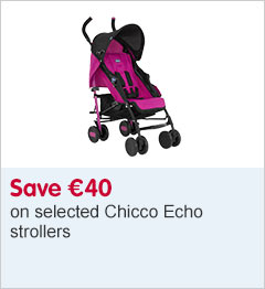 Save 40 Euros on selected Chicco Echo strollers