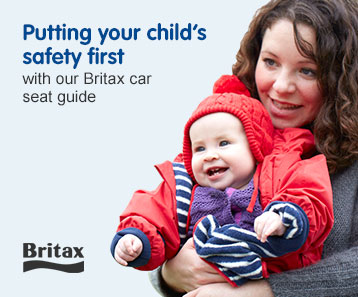Find your car seat. Putting your child's safety first