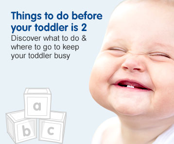 Things to do before your toddler is 2