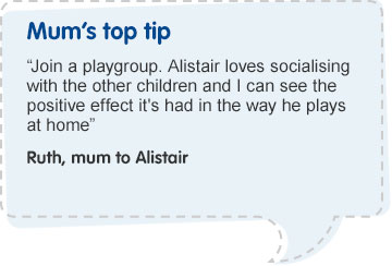 Mum's Top Tip- Baby Play