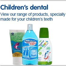 Children's dental  View our range of children's dental products, specially made for your children's teeth