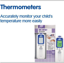 thermometers, accurately monitor your child's temperature more easily