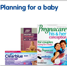 Womens health planning for a baby