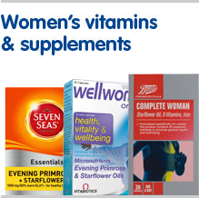 Womens vitamins and supplements
