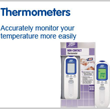 Thermometers. Accurately monitor your temperature more easily
