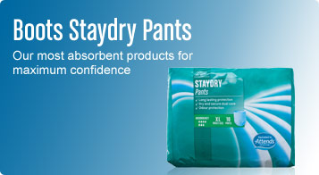 Boots staydry pants