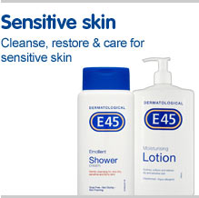 Sensitive skin. Cleanse, restore and care for sensitive skin