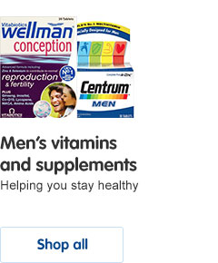 Men's vitamins and supplements